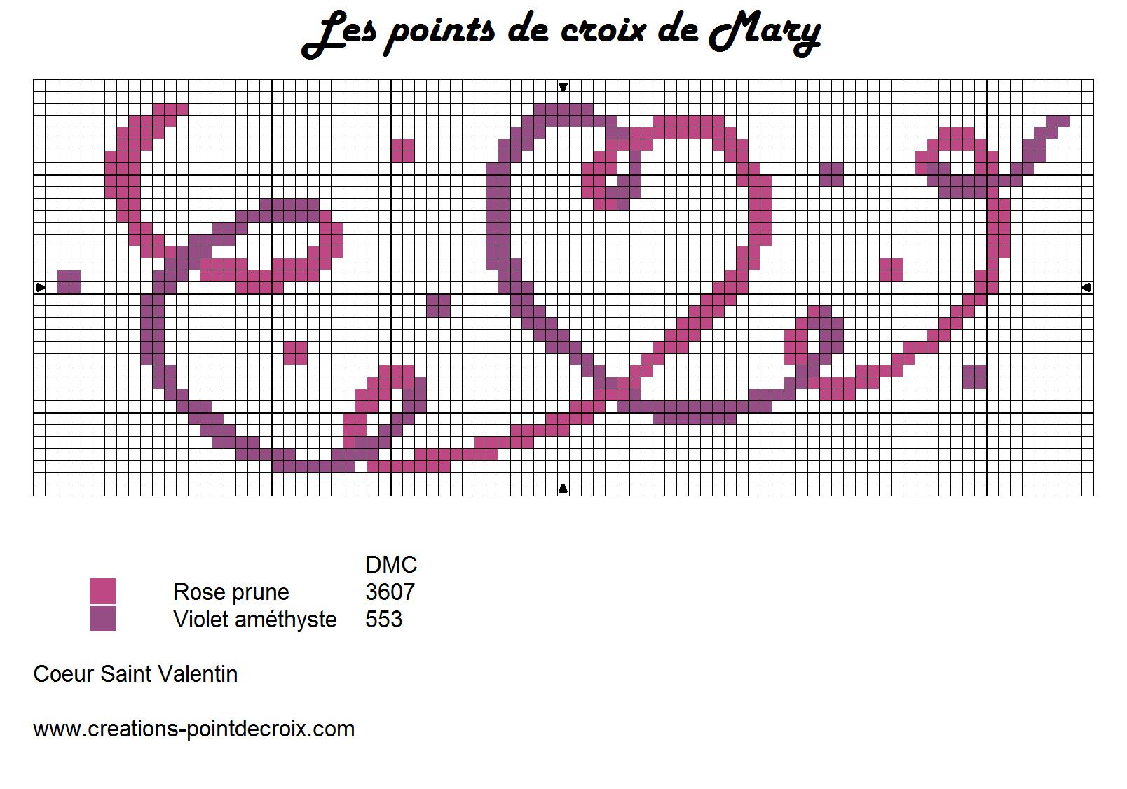 Grille gratuite les points de croix de mary page 2 - Grilles gratuites point de croix dmc ...