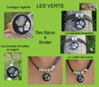 Les bijoux verts