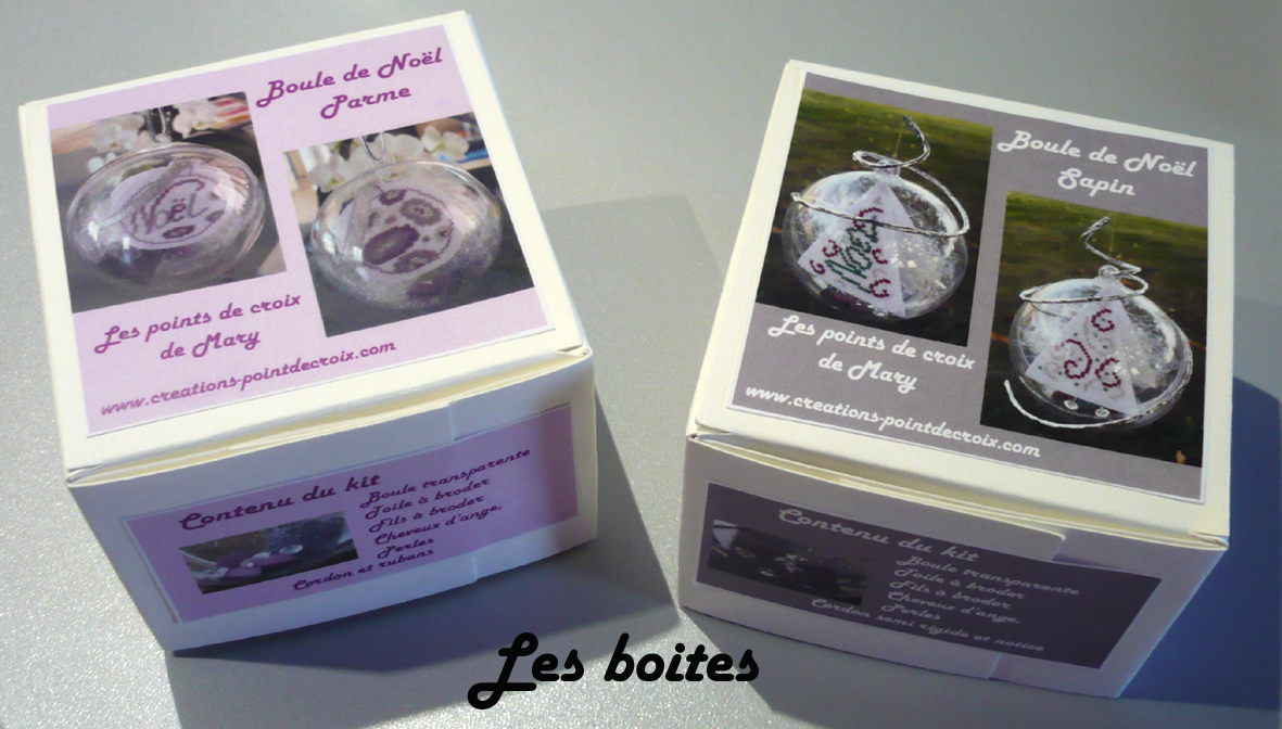 Kit Creation Boule De Noel.Boule De Noel Parme