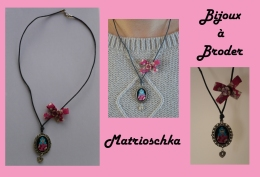 Collier matrioshka