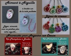 Bijoux de ciseaux Vert et Violet