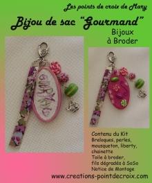 Bijou de sac gourmand ref K43