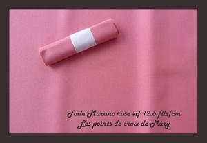 murano rose vif