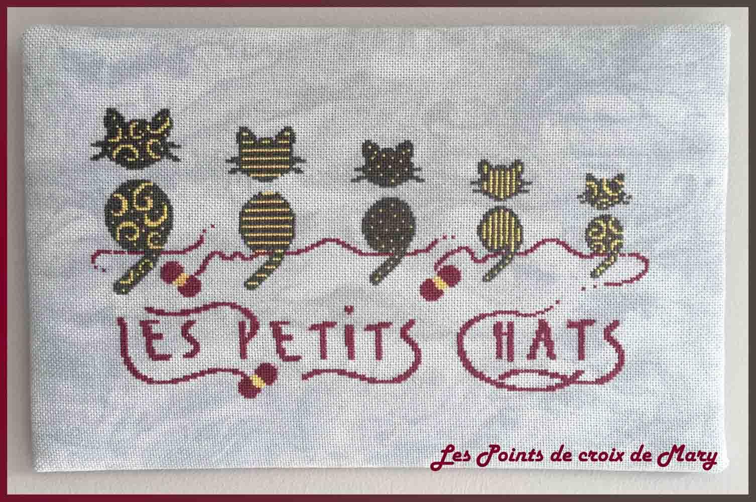 Les Points De Croix De Mary Point De Croix Moderne